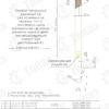 Столбик сигнальный С2 скошенный чертёж