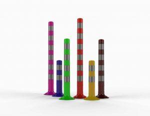 Гибкие пластиковые столбики