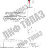 Столбик сигнальный С3 прямой чертёж