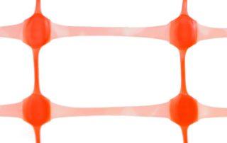 Сетка пластиковая оранжевая