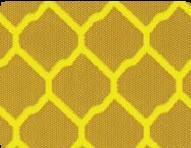пленка светоотражающая желтая