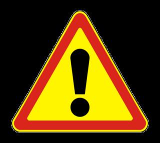 Знак 1.33 Прочие опасности (Временный)