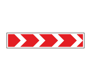 Знак 1.34.1 Направление поворота (большой)