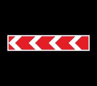 Знак 1.34.2 Направление поворота (большой)