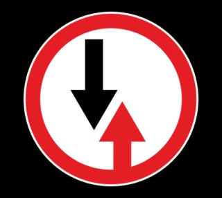 Знак 2.6 Преимущество встречного движения