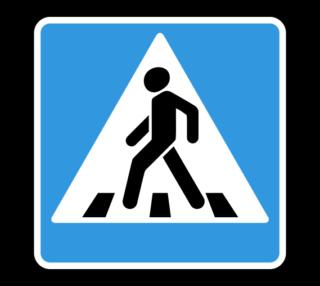 Знак 5.19.1 Пешеходный переход