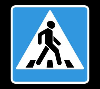 Знак 5.19.2 Пешеходный переход