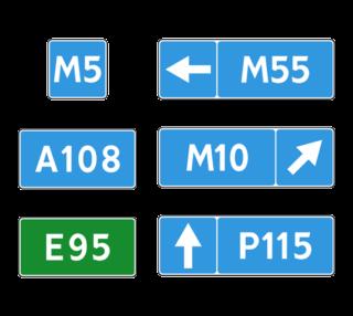 Знак 6.14.1-2 Номер маршрута