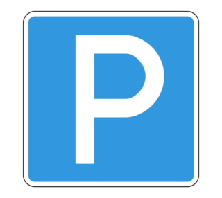 Знак 6.4 Место стоянки