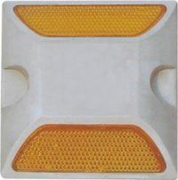 катафот дорожный алюминиевый кд 3 желтый
